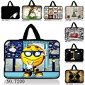 "Hot Designs 15""  15.6"" 15.5"" 15.4"" Laptop Soft Handle Sleeve Bag Case For Hp Envy 6/DELL XPS 15/ASUS X53"