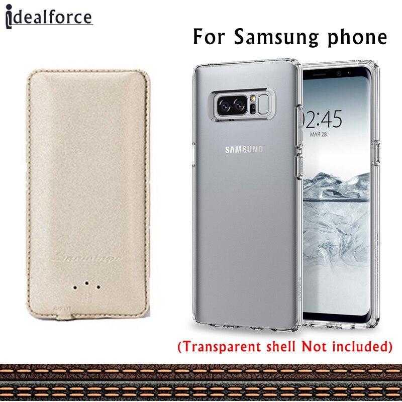 Роскошные Ультратонкий Батарея кожаный чехол Зарядное устройство для Samsung Galaxy A5 A7 2016 <font><b>J5</b></font> J7 S 5 6 7 8 s края Примечание плюс телефон Мощность банк