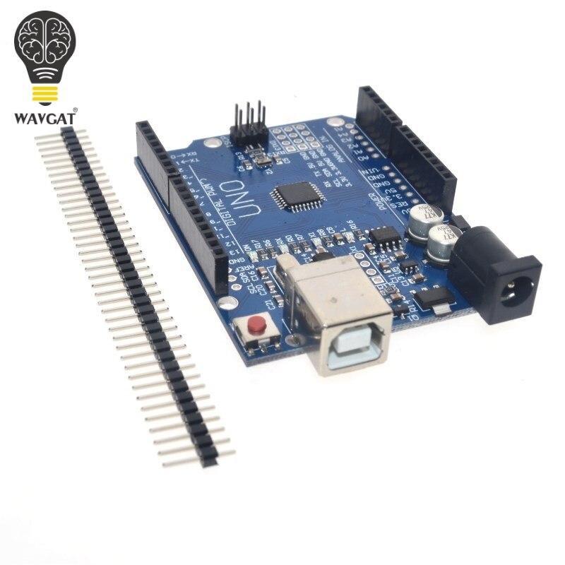 Freies verschiffen cnc schild V3 graviermaschine 3D Printe + 4 stücke DRV8825 treiber expansion board für Arduino UNO R3 mit usb-kabel
