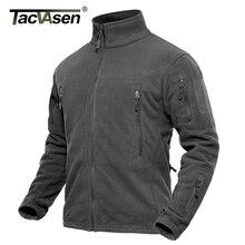 TACVASEN Men Winter Fleece Jacket Military Tactical Jacket Coat Male Thermal Special Combat Army Jacket Autumn Hike Hunt Jacket