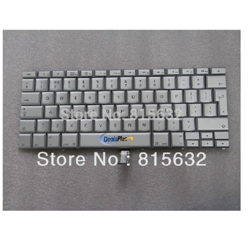 NEW Laptop UK Keyboard For Apple Mackbook Pro 15  A1260 A1211 A1226,WHOLESALE ! wild scorpion rc 18 5v 5500mah 35c li polymer lipo battery helicopter free shipping