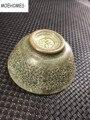 Moehouses 1 шт. китайские античные медные бронзовые резные цветы fo статуя Цин/династия Мин чаши чайные чашки для вина
