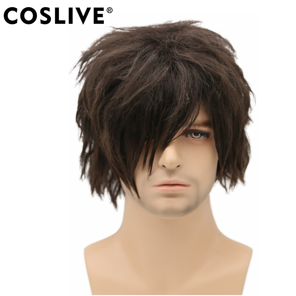 Coslive The Walking Dead Daryl Dixon Wig Cosplay TV Costume Accessories Wig Hair Hallowe ...