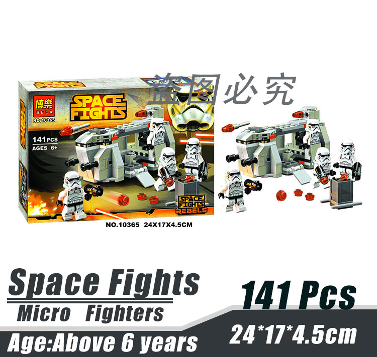 Bela 10365 Star Wars Micro Fighters Blacklist Spider Bot Robot Minifigures Building font b Block b