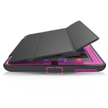 Case For apple ipad 4 Kids Safe Shockproof TPU Stand Cover for ipad 2/3/4 tablet 360 full protection