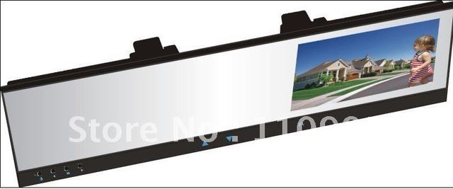 "HD720P DVR+4.3"" TFT Mirror with wireless backup camera"