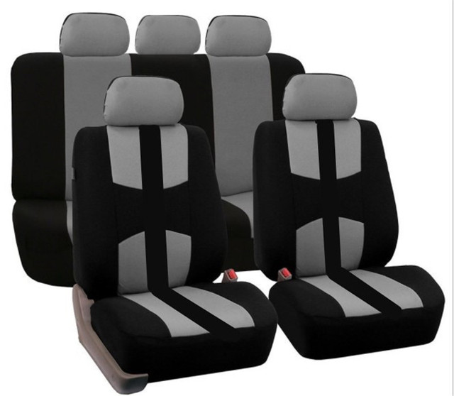 2017 Universal Car Seat Covers Only For All Back SUV Black Red