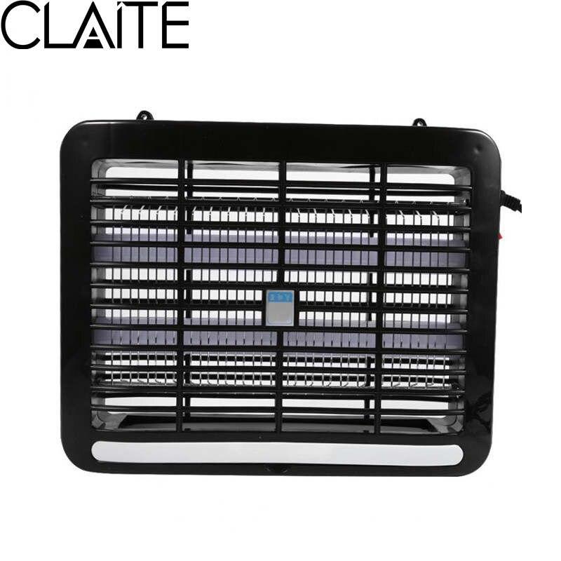 CLAITE 8W LED White Mosquito Repellent Trap Lamps