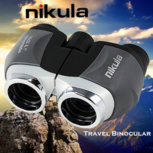 Nikula Binoculars 10×22 Compact binocular Mini portable Telescope for outdoor camping Lll night vision Tourism scope