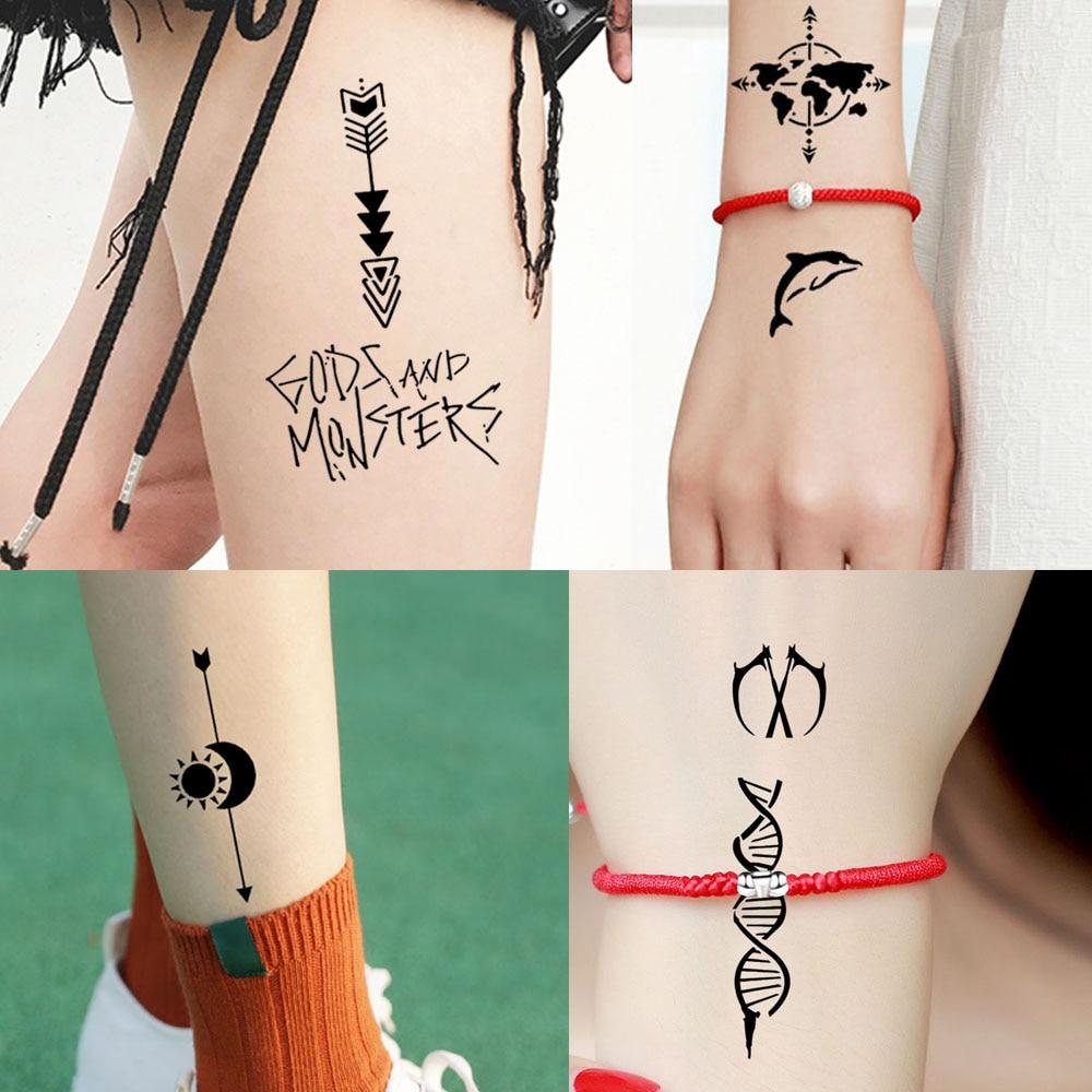 1ae795204 glaryyears 6 Pieces/set Henna Tattoo Stencil Hollow Medium Body Art Paint  Small Geometry Pattern Template Temporary Draw S200#31-in Tattoo Stencils  from ...