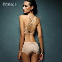 Ensence New Arrival Sexy Beauty Push Up Bras Seamless Wireless Underwear Women Halter Front Buckle For