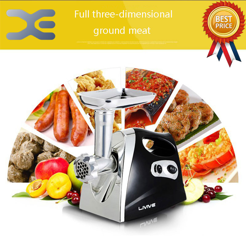 Small Stainless Steel Automatic Enema High Quality MachineStainless Steel Meat Grinders Electric