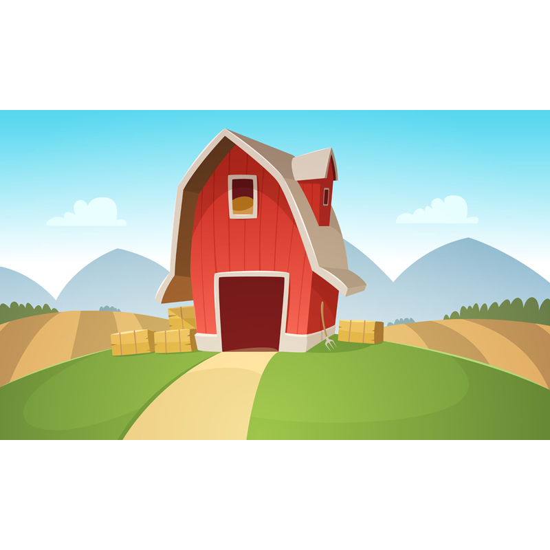 MEHOFOTO Vinyl Photography Background Farmyard Store Computer Printed Children Backdrops for Photo Studio ZH-110 vinyl photography background bokeh computer printed children photography backdrops for photo studio 5x7ft 888