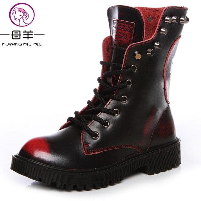 cd48615ecfe0 3097.75 руб. 15% СКИДКА|Новые Модные Женские ботинки в английском стиле  сапоги на ...