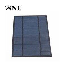 6V 1000mA 6Watt 6W Lượng Mặt Trời Tiêu Chuẩn Epoxy Đa Tinh Thể Silicon DIY Pin Sạc Mô Đun Mini Năng Lượng Mặt Trời tế Bào Đồ Chơi