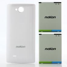2pcs 3000mAh Original Large Battery + 1pc Matched Back Shell Case for Neken N6 Smartphone