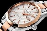 40mm Sangdo relógio Negócio movimento Automático Auto-Vento relógios Mecânicos de Alta qualidade Auto Data assista men 044A
