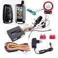 STEELMATE 986XO recarregável em dois sentidos do sistema de alarme da motocicleta com LCD transmissor, parada de partida do motor remoto sensor de choque de advertência