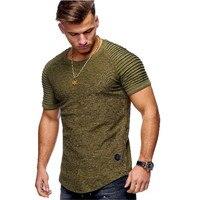 Men Bamboo Fiber T Shirts 2018 Men S Summer T Shirts Tops Short Sleeve Cotton Tops