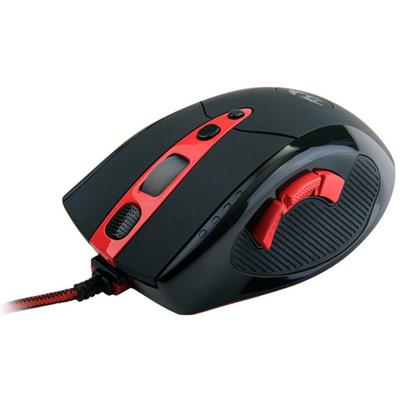 Professionnel Filaire Gaming Mouse 10 Bouton 8200 DPI Rat led Optique USB Ordinateur souris de jeu Lecteur Souris Bureau Souris