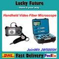 De fibra óptica de limpeza e inspeção Kit com Handheld microscópio de vídeo e Fiber Optic Cleaner Pen