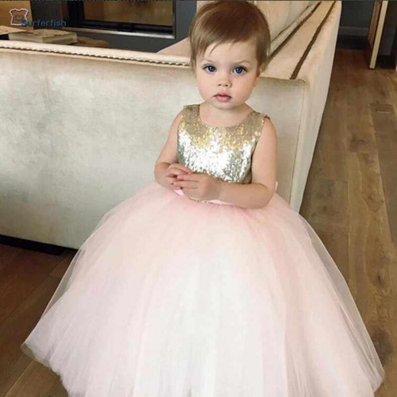 Free Shiping Toddler Girls Kids New Party Formal dress yarn Summer  Sleeveless Flowers Princess Wedding Valentine s c847b48a3aff