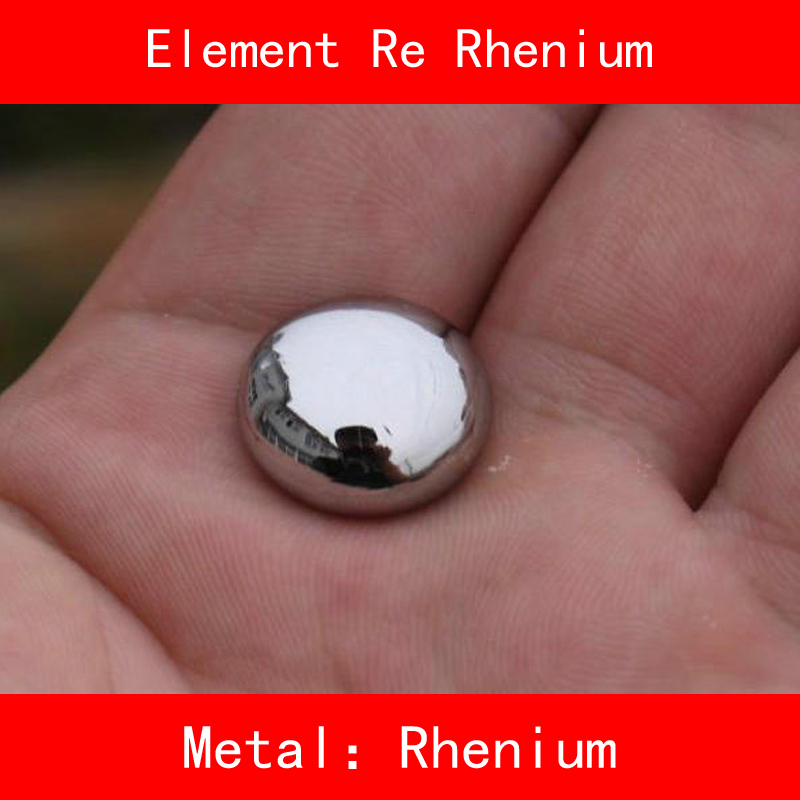 Re Rhenium Powder Sheet Bar Ball Pure 99.99% Periodic Table of Rare-earth for DIY Research lab Collection Education