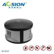 Miễn phí vận chuyển Nhà Aosion 360 độ siêu âm Chuột kiểm soát loài gặm nhấm chuột chuột repellent và điện tử pest repeller kiểm soát