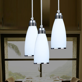 restaurant droplight contracted and contemporary chandelier three meals chandeliers wholesale glass lamps and lanterns