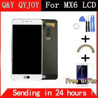 QYQYJOY New LCD Display Digitizer Touch Screen Assembly For Meizu MX6 Smart Cellphone 5 5 Black