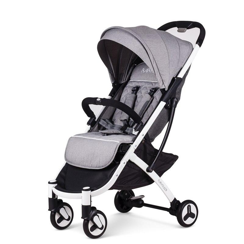 Babyruler Stroller with Super Portable Folding Trolley Summer Umbrella