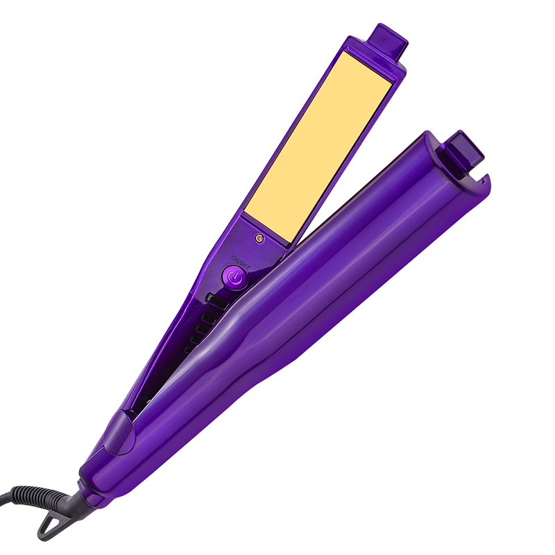2 in 1 Haar Curlers Haarglätter Dauerwelle Styling Rolloer Styler Curler Tools Wand Haar Curling & Richt Eisen Haar Styler