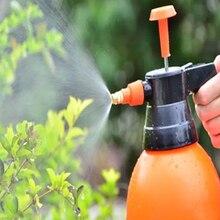 1 Pcs  2L Hand Pressure Trigger Sprayer Bottle Adjustable Copper Nozzle Head Manual Air Compression Pump Spray
