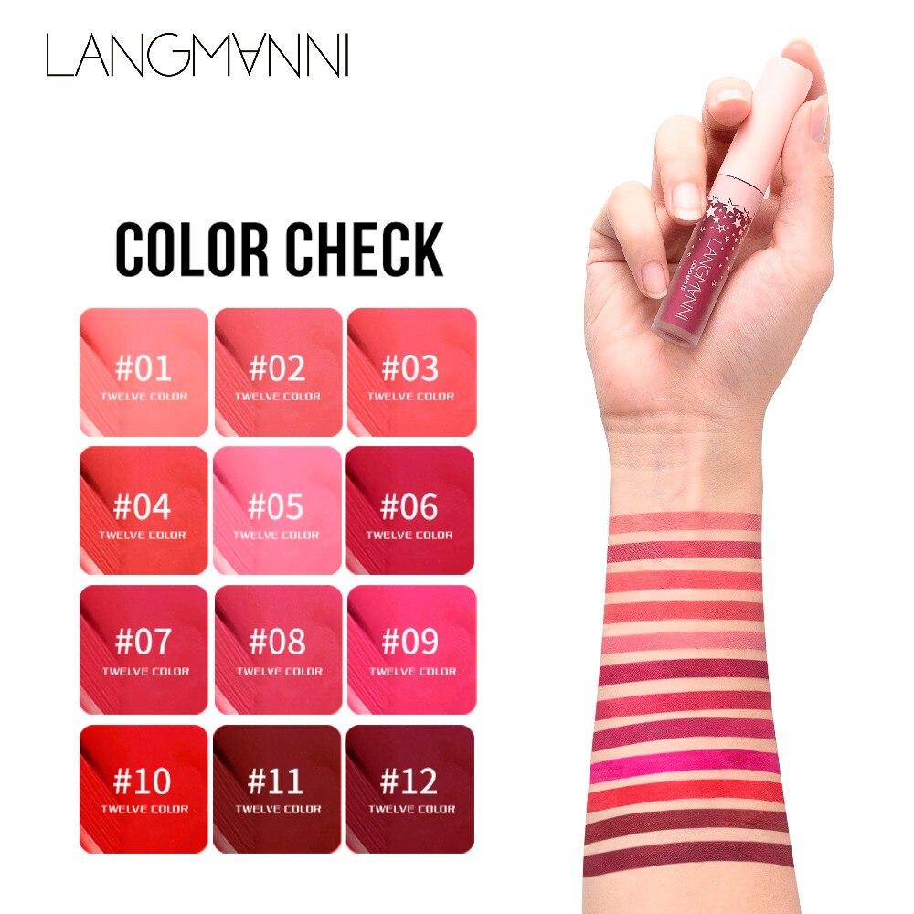 kyliejenner Matte Lipstick Long Lasting Waterproof lip gloss matte velvet liquid lipstick sexy red tint batom lips makeup N40 1