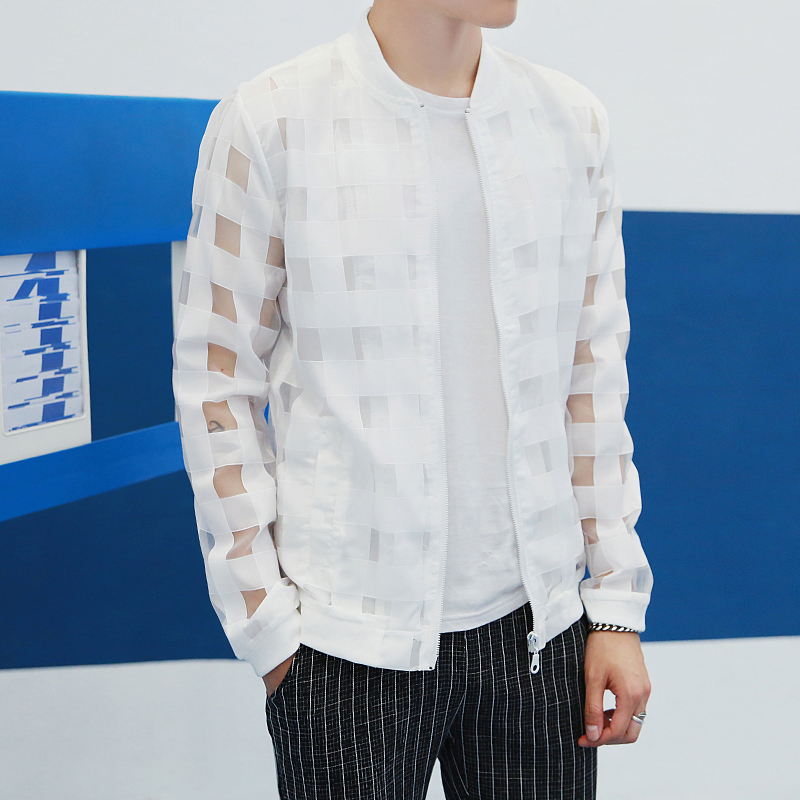 aliexpress buy pierced transparent jacket 2016