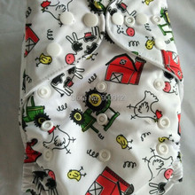Nappy Baby Wholesale Infant-Cloth-Diaper Fabric One-Pocket-Nappies Colorful Resuable