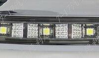 New Super Bright Plating Chrome CAR Specific HIGHLANDER 2012 2013 LED DRL LED Daytime Running Light