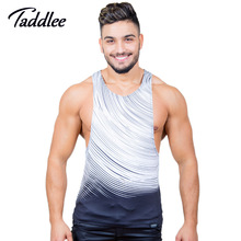 Taddlee Marke Mens Tank Top Unterhemden Sexy Entworfen 3D Gedruckt Top Tees Shirts Sleeveless Stringer Sinlets Bodybuilding