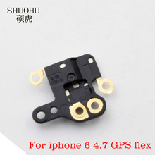 "shuohu brand 1Pcs New Gps Flex cable For iphone 6 4.7"" GPS Antenna Signal Flex Cable Repair Parts For iphone 6G flex replacement"