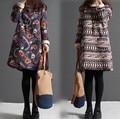 autumn winter maternity fluid  dress Pregnant Women Loose Knee-length dress women dress Plus size