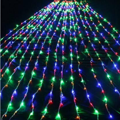 New Year 3x6M Garlands LED Waterfull String Lights Cristmas Decoration Luzes de Natal LED Christmas Lights Outdoor Navidad 3x6m led net lights 800 smds christmas natal new year garlands waterproof led string indoor outdoor landscape lighting wholesale
