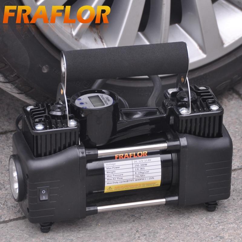 Portable Digital Car Air Compressor Heavy Duty Car 12V Inflating Pump Electric Tire Inflator Inflatable Pump