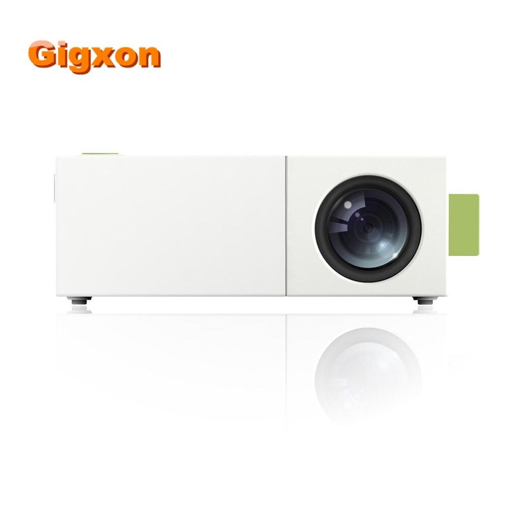 Gigxon YG310 Portable Mini Pocket Projector HD 1080P G19 Mini Projector Outdoor Home Cinema Theater