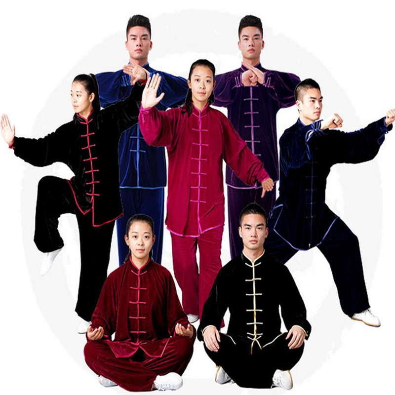 Initiative High Quality Adult Children Tai Chi Uniform Kids Martial Art Suit Kung Fu Chinese Wushu Clothes Taiji Clothing Jacket & Pants Goods Of Every Description Are Available Other Fitness & Bodybuilding Products