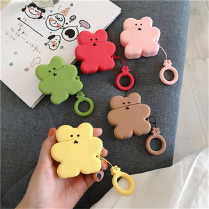 Funny Bear Cookie Cases For Ap