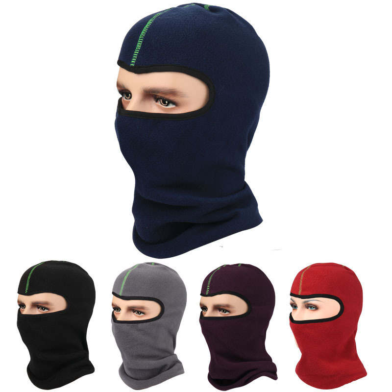 2017 Adult Real Promotion Beanie Winter Sports Outdoor Cycling Hat Warm Headgear Earmuffs Riding Cap Balaclava Mask Velvet smk1060 to 220f