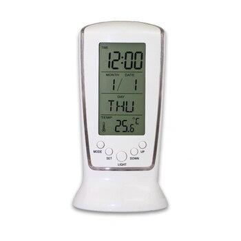 Blue Backlight Digital Alarm Clock Desktop Table Clock Watch Snooze Led Clock Reloj Despertador Electronic Led Digital Clock digital clock