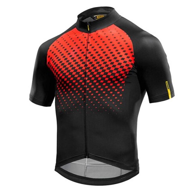ALI shop ...  ... 32962345899 ... 3 ... 2018 MAVIC Cycling Jersey Tops Racing Cycling Clothing Ropa Ciclismo Short Sleeve mtb Bike Jersey Shirt Maillot Ciclismo K122402 ...