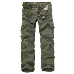 Модные Военные штаны-карго мужские Свободные мешковатые тактические брюки Oustdoor повседневные хлопковые штаны-карго мужские Мульти карманы