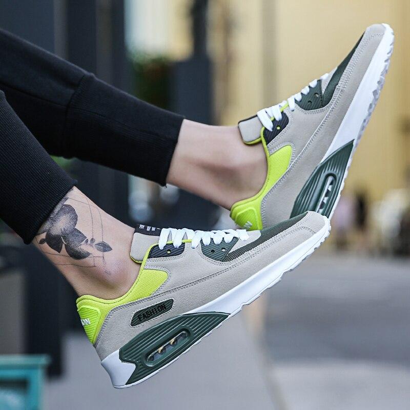 2019 damyuan men running shoes almofada de